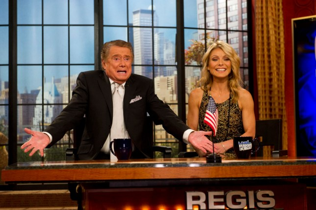 Teary Kelly Ripa remembers Regis Philbin