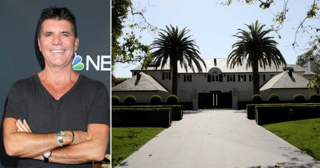 Simon Cowell selling his LA mansion to live a 'simpler life'