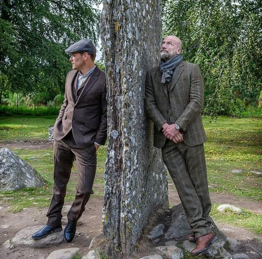 Outlander's Sam Heughan and Graham McTavish in Men In Kilts show
