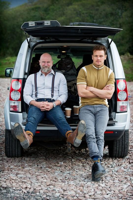 Men In Kilts featuring Sam Heughan and Graham McTavish