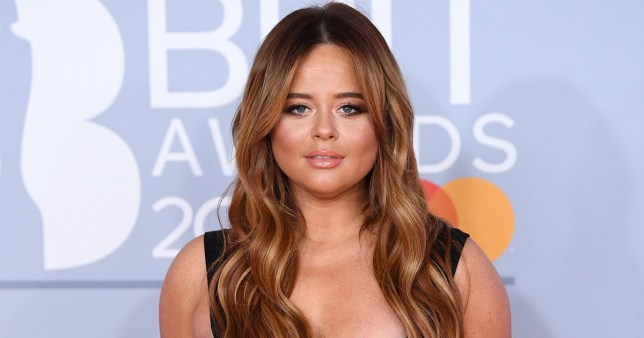 Mandatory Credit: Photo by David Fisher/REX/Shutterstock (10558798pq) Emily Atack 40th Brit Awards, Arrivals, The O2 Arena, London, UK - 18 Feb 2020