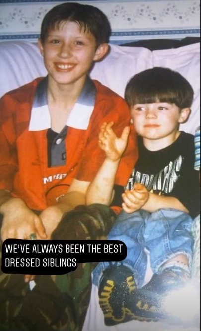 Gogglebox star Tom Malone Jr shares epic throwback snap as he wishes brother a Happy Birthday