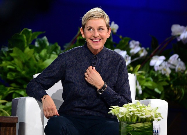 Ellen DeGeneres on The Ellen Show