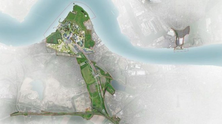 Plans for 'UK's answer to Disneyland' unveiled Picture: The London Resort