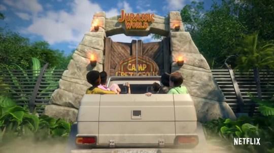 Jurassic World: Camp Cretaceous (Picture: Netflix)