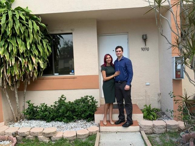 Pakeezah Zubairi and her boyfriend Steven.