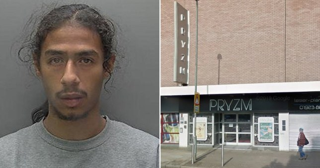 7yrs for firing shots at clubbers in Watford