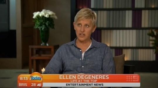 Ellen DeGeneres on Today