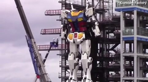 Japan is busy building giant robots (Gundam Central)