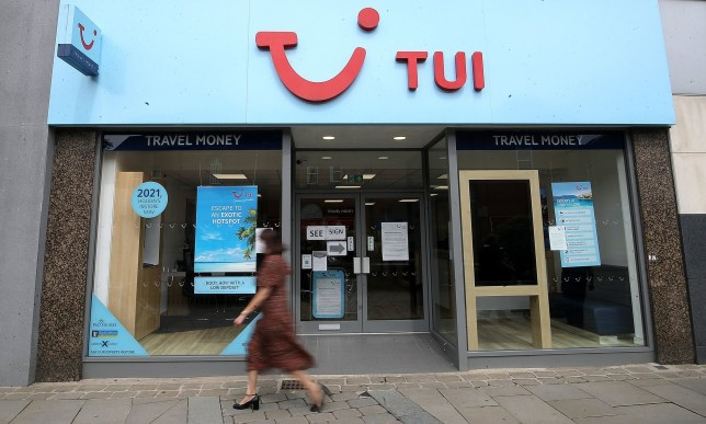 a TUI Store in Oldham