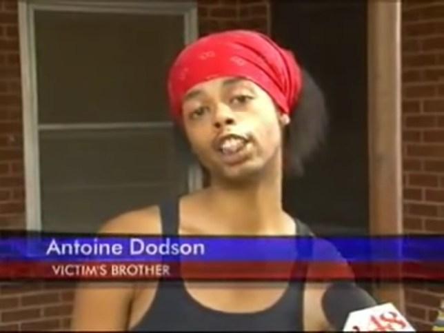 Antione Dodson in Hide Yo Kids, Hide Yo Wife video