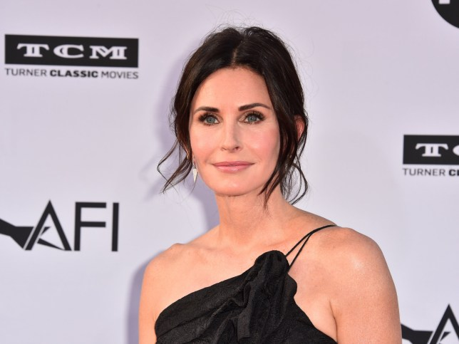Courteney Cox on red carpet