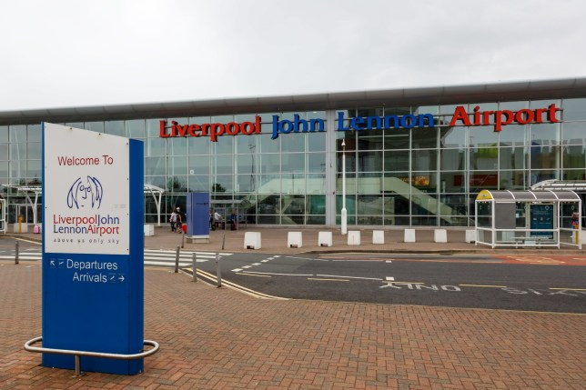 A view of Liverpool John Lennon Airport taken on August 14, 2017