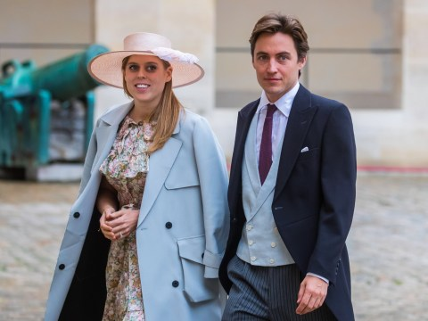 Why was Princess Beatrice's wedding to Edoardo Mapelli Mozzi held in secret?