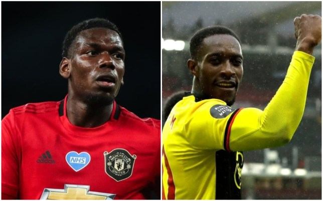 Paul Pogba was impressed with Danny Welbeck's overhead kick for Watford