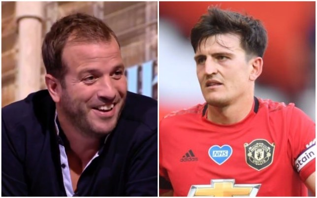 Rafael van der Vaart launched a scathing attack on Manchester United's Harry Maguire