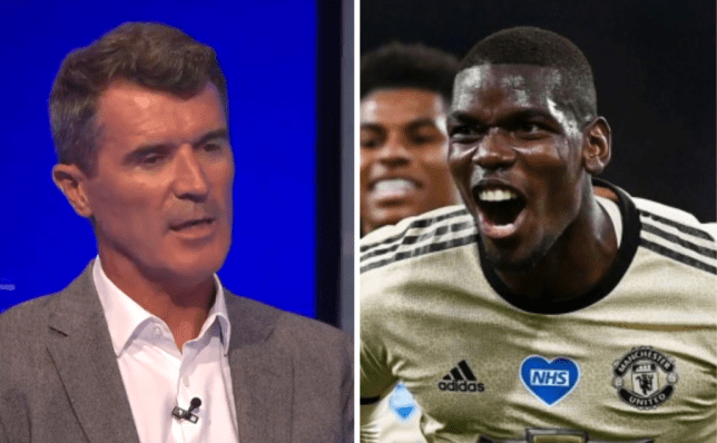 Roy Keane takes swipe at Paul Pogba after Manchester United win