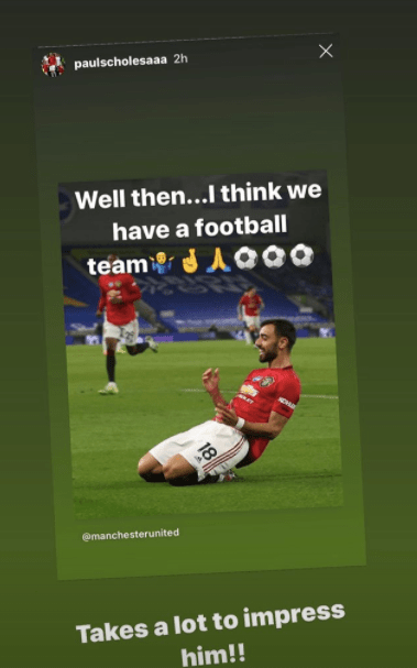 Gary Neville responds to Paul Scholes' message on Instagram
