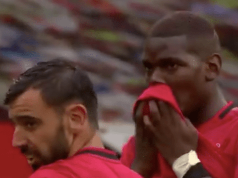 Bruno Fernandes reveals what Paul Pogba told him before his free-kick in Manchester United's win over Bournemouth