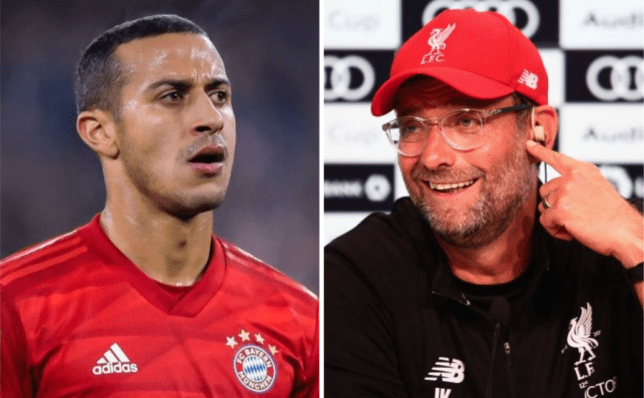 What Jurgen Klopp has said about  Liverpool target Thiago previously