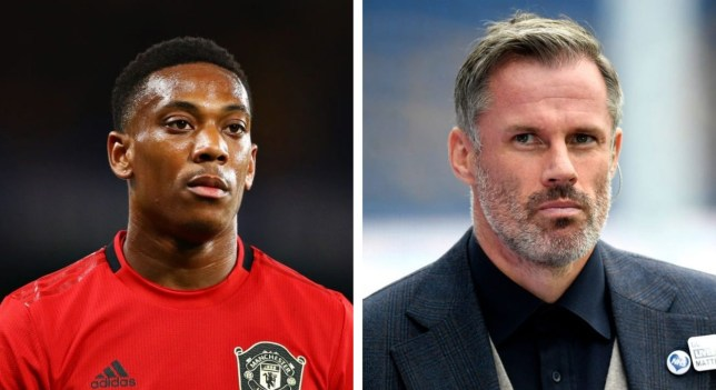 Jamie Carragher has revealed his doubts over Manchester United forward Anthony Martial