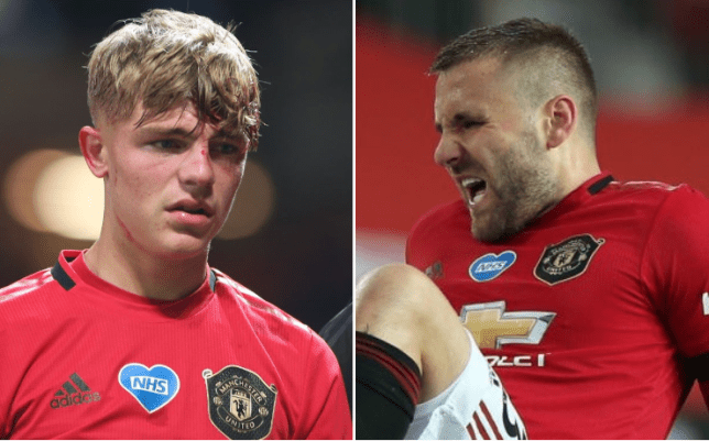 Luke Shaw and Brandon Williams both missed Man Utd's win over Crystal Palace in midweek