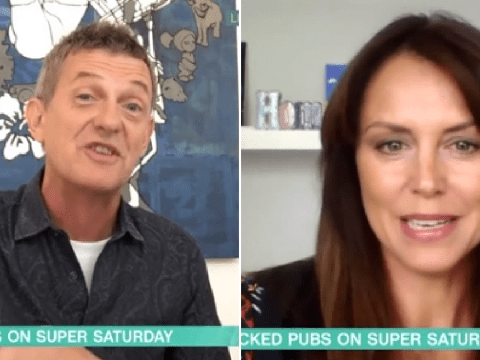 Matthew Wright and Bev Turner clash on This Morning as she stands up for huge crowds of pub-goers on 'Super Saturday'