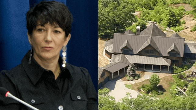 Ghislaine Maxwell and her estate in New Hampshire