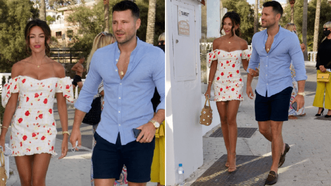 Michelle Keegan And Mark Wright Look Smitten As They Enjoy Dinner In Marbella Metro News