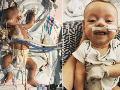 Toddler who survived heart and liver transplants is diagnosed with cancer for second time