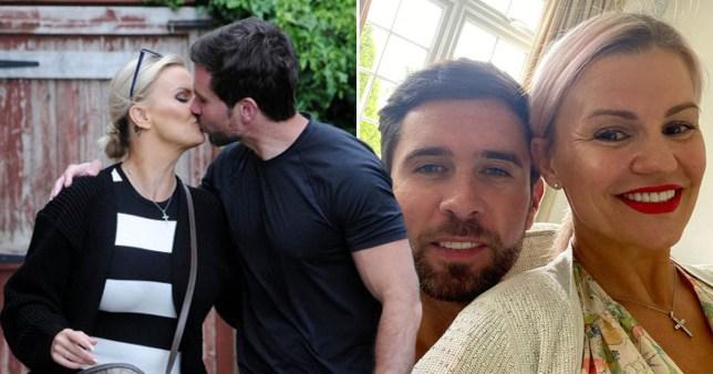Kerry Katona and boyfriend Ryan Mahoney