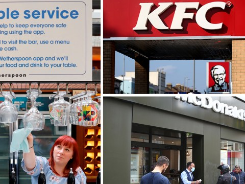 McDonald's, KFC, Starbucks and Wetherspoons slashing prices from today after VAT cut