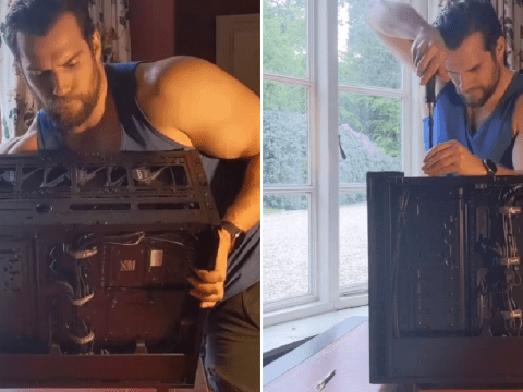 The Witcher star Henry Cavill builds a PC with his bare hands in weirdly soothing video