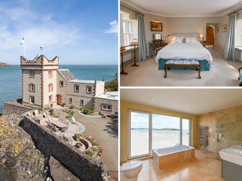 Buy a Scottish coastal tower with swimming pool and boathouse for £1.1 million