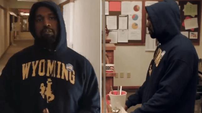 Kanye West voting