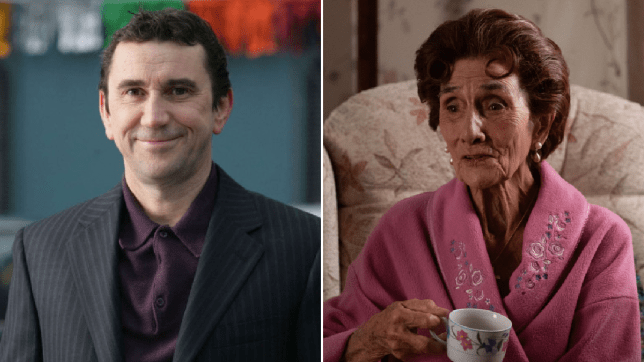 Kevin Wicks and Dot Cotton in EastEnders