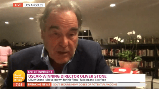 Oliver Stone on Good Morning Britain
