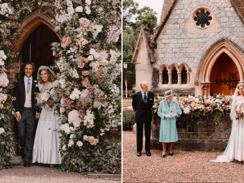 Princess Beatrice shares stunning photos of secret wedding at Windsor Castle