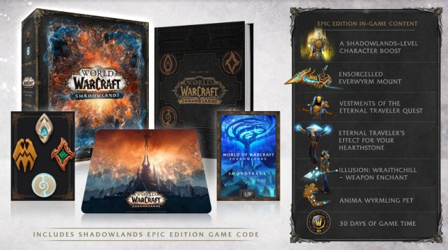 World Of Warcraft: Shadowlands Limited Collector's Edition