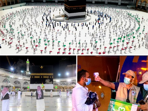 Socially distanced Hajj pilgrimage begins in Mecca