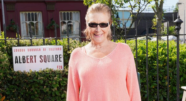 Linda Henry in EastEnders: Secrets From The Square