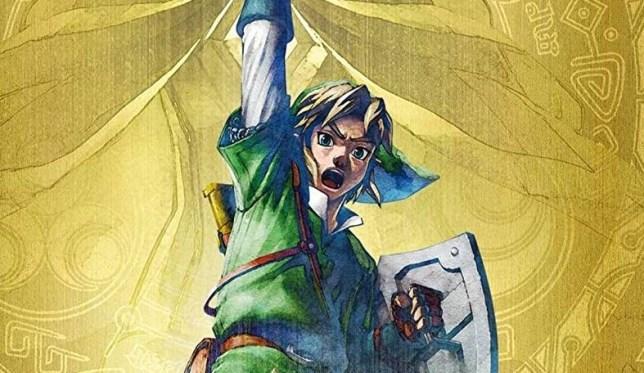 The Legend Of Zelda: Skyward Sword artwork