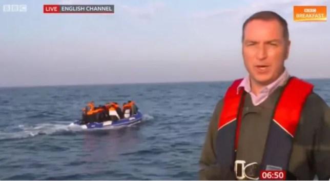 BBC Simon Jones Migrant report