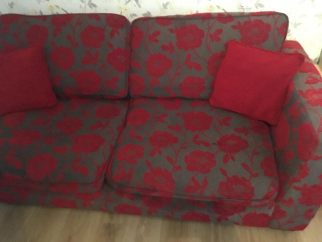 Mum who loved £1,000 sofa but couldn't afford it makes her own for £38