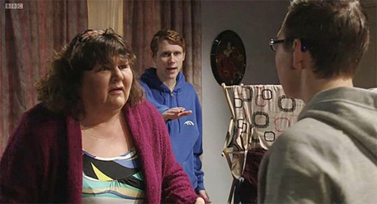 Cheryl Fergison as Heather Trott on EastEnders