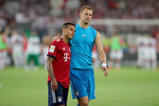 Neuer wants the Spaniard to stay