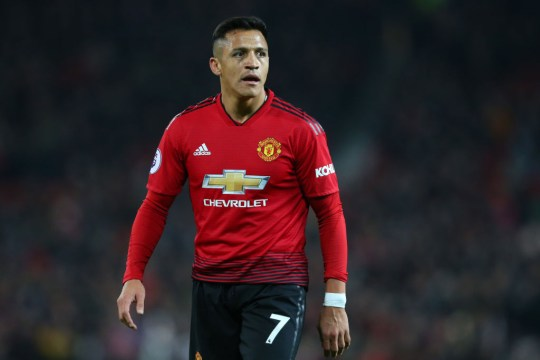 The Chilean endured a torrid time at United