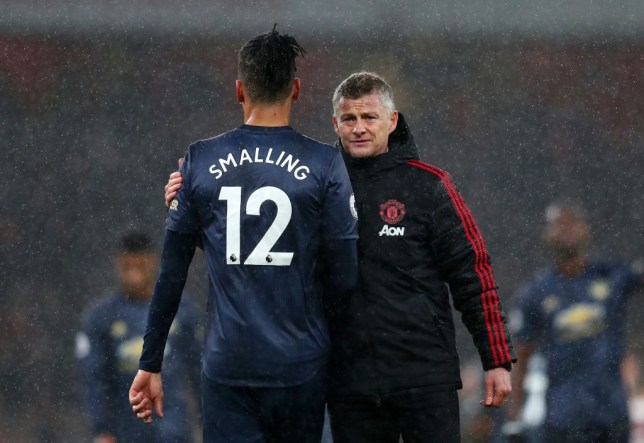 Man Utd boss Ole Gunnar Solskjaer speaks out on Chris Smalling ...