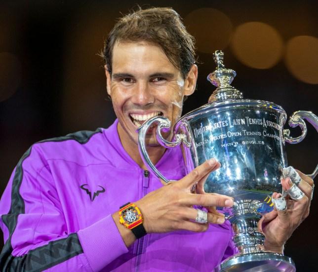 Rafael Nadal beat Daniil Medvedev in last year's US Open final