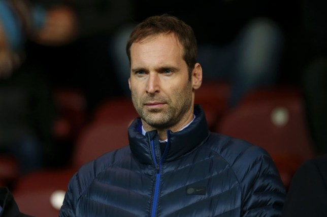 Petr Cech, technical and performance advisor at Chelsea, looks on during the Premier League match between Burnley FC and Chelsea FC at Turf Moor on October 26, 2019 in Burnley, United Kingdom.